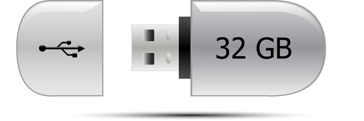 USB flash memory drive 32GB