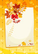 Autumn card