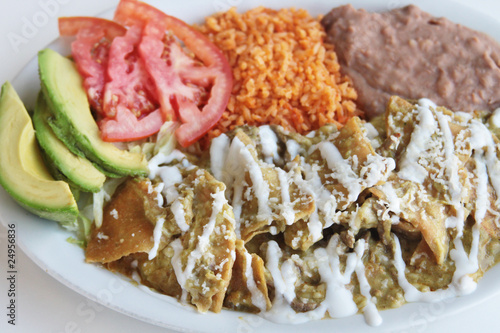Chilaquiles - Mexican Plate
