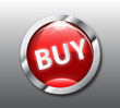 Red buy button vector