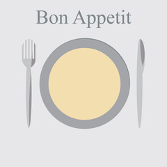 bon appetit illustration
