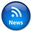 NEWS Web Button (rss feed internet media breaking headlines ok)