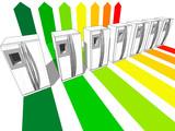 seven refrigerators certified in seven energetic classes poster