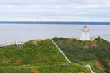 Cape Enrage lighthouse NB, Canada poster