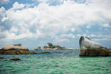 kelayang beach belitung indonesia