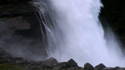 Wasserfall Krimml aus der Nähe 2