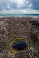 unique rock in belitung indonesia
