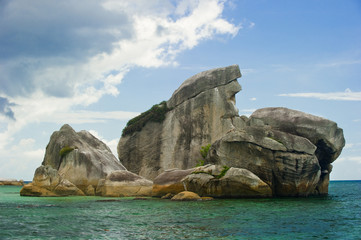 bird island belitung indonesia