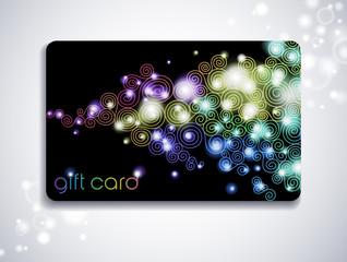 rainbow gift card