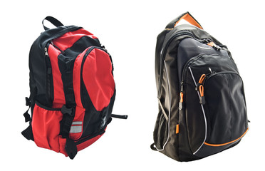 two school backpacks