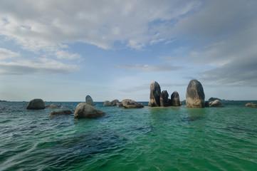 batu layar island belitung indonesia