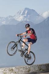 Mountainbike Wheely