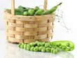 peas in the basket
