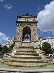 Fuente de los Inocentes en Paris