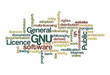 GNU General Public Licence - Word Cloud