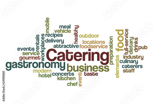 Catering - Word Cloud