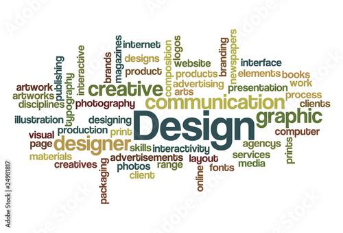 Design - wordcloud