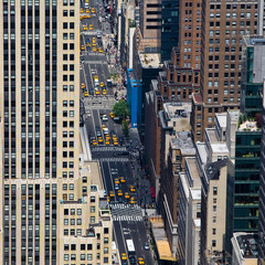 Hochäuser in New York City