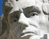 Abe Lincole on Mount Rushmore