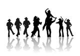 Fototapety cowboy dance