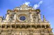 Leinwanddruck Bild - Chiesa Santa Croce Lecce
