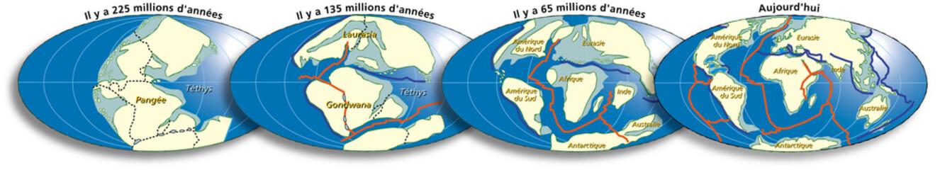 Terre - Tectonique des plaques 2B