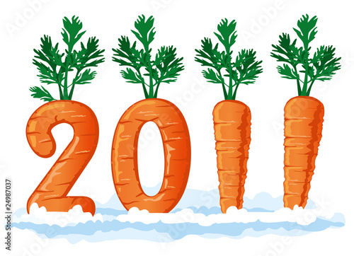 2011 figures from the carrots