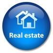 REAL ESTATE Web Button (property for sale rent let market ad)
