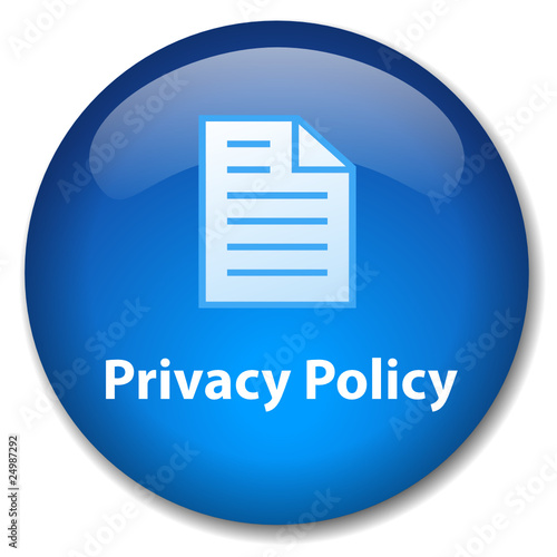 PRIVACY POLICY Web Button (disclaimers terms & conditions legal)