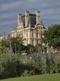 Museo del Louvre en Paris poster