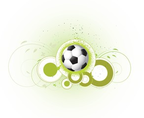 abstract  soccer football