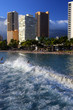 Stock image of Waikiki Beach, Honolulu, Oahu, Hawaii..
