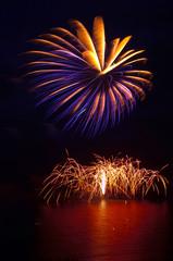firework fantasy on the high sea