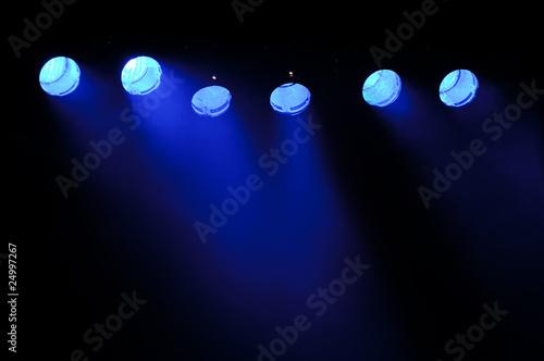 Foto op Plexiglas Licht, schaduw Light and smoke