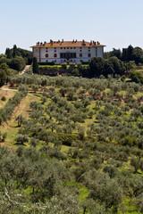 Villa medicea di Artimino in Toscana