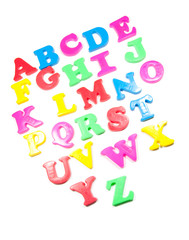alphabet fridge magnets