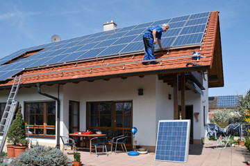 New solar for one family house