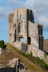 Ruine Corfe Castle in Südengland
