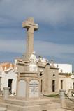 religious monument mausoleums marine cemetery graveyard bonifaci poster