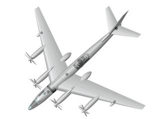 Ту-95ЛАЛ. Летающая атомная лаборатория.
