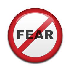 Chapa prohibido miedo