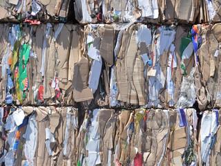 Papiers et cartons à recycler