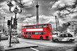 Fototapete Bus - Londoner - Andere