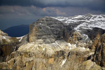 Paeseggio di alta montagna