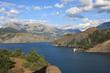 lac de serre ponçon - hautes alpes - france