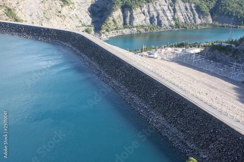 barrage de serre ponçon - hautes alpes - france - 25010041
