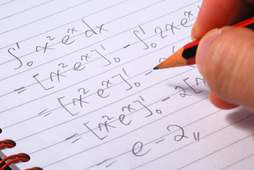 Work on a mathematics question concepts of education