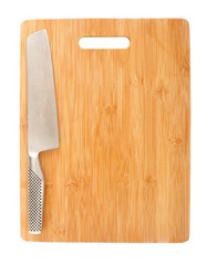 Cutting board and cleaver