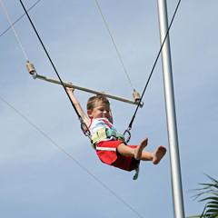 école du cirque : trapèze volant #2
