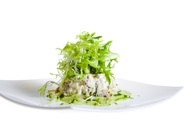 salad with rucola